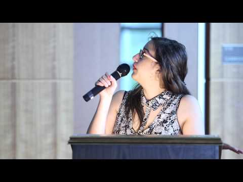 Mariam Barghouti Talk- Students for Justice in Palestine