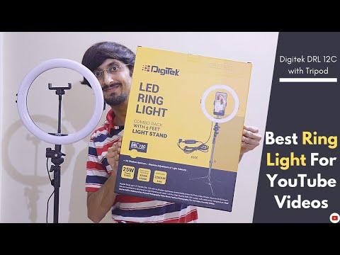 Best Ring Light For YouTube Videos - Digitek DRL 12C Review