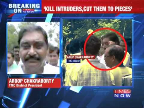 Kill intruders, cut them to pieces: TMC leader Arup