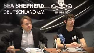 Sea Shepherd Press Conference about Paul Watson