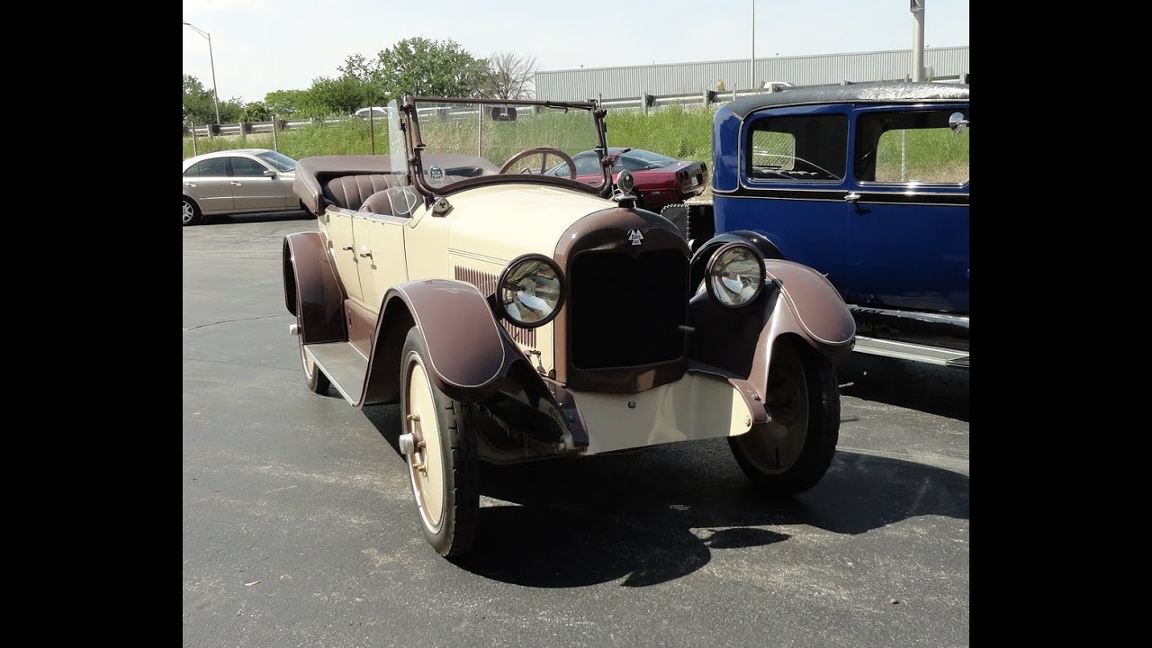 1920 Elgin Six Sport Touring on My Car Story with Lou Costabile ...