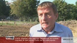 Des digues contre les inondations à Cobrieux