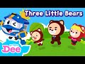 Gambar cover Three Little Bears | Let's listen to the bear family's story! | English song | Kids song