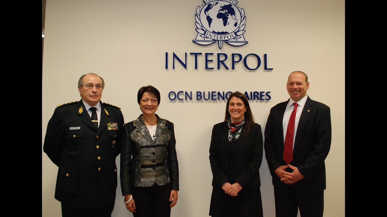 La presidenta de interpol inaugur oficina central for Oficina nacional de seguridad
