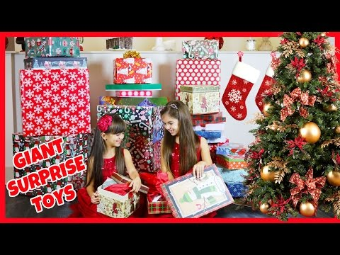 BIGGEST SURPRISE EVER - Opening Giant Christmas Presents - Holiday Surprise! Early Christmas Gifts from YouTube · Duration:  3 minutes 33 seconds