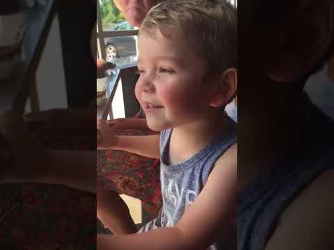 Isaac singing