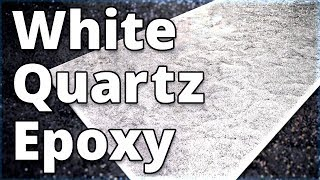 Make White Quartz Countertops With Epoxy | Stone Coat Countertops