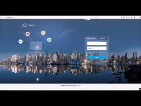 CAMX CCTV: How To View Live Cameras Using easy4IP.com