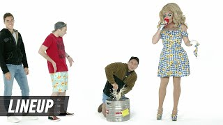 Drag Queen Guesses Who's in a Fraternity | Lineup | Cut