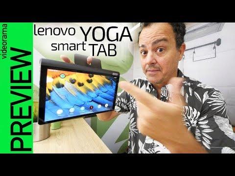 Lenovo Yoga Smart Tab -¿el tablet PERFECTO?
