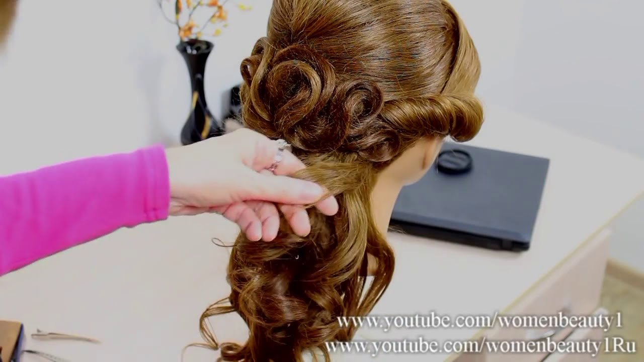 Prom Hairstyle For Long Hair Tutorial   YouTube