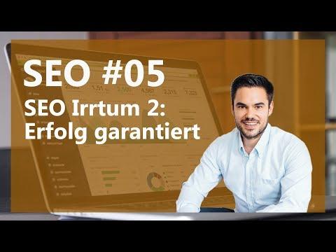SEO Irrtum 2 - Website An Google Senden Und Erfolgreich Sein! / SEO #05