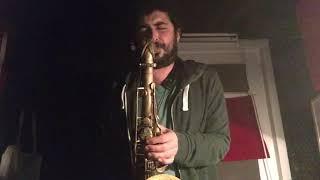 "Ryan Kisor Transcription on ""Moanin"" - Gurtug Gok Saxophone"