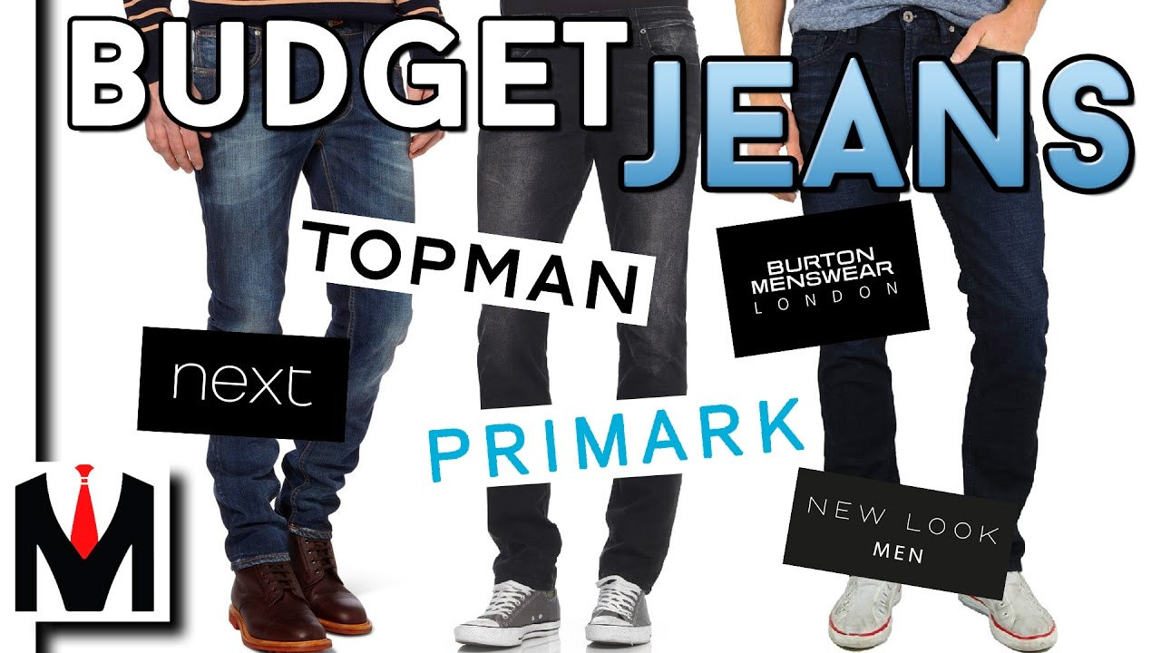 6 BEST Places To BUY BUDGET JEANS | Best Fitting Jeans for Men ...