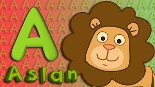 A Harfi - ABC Alfabe SEVİMLİ DOSTLAR Eğitici Çizgi Film Çocuk Şarkıları Videoları