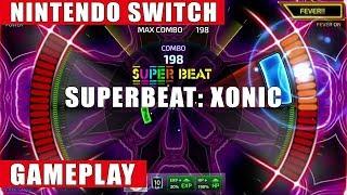 Superbeat XONiC: Nintendo Switch Gameplay