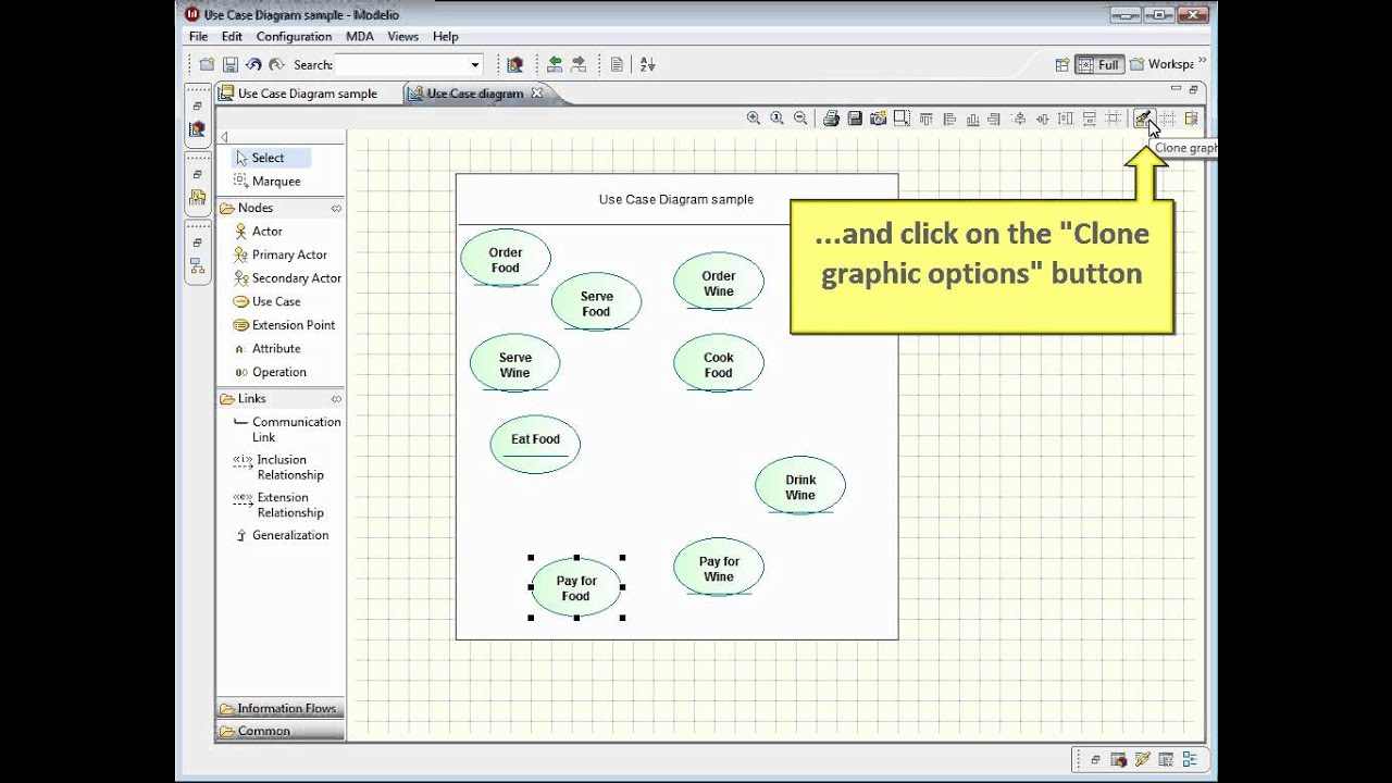 Uml Case Diagram Example