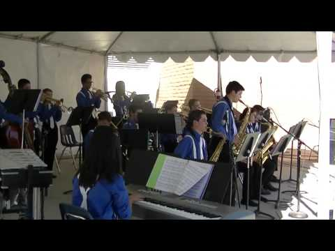 PDCMS JAZZ BAND at ROCK THE HOUSE