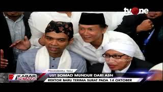 Kabar mengejutkan datang dari dosen sekaligus tokoh agama Ustaz Abdul Somad. UAS mengajukan surat pengunduran diri sebagai ASN dan dosen di UIN ...