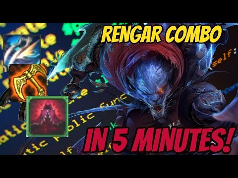 5 MINUTES GUIDE TO RENGAR COMBO [+INTERACTIVE GAME]