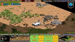 C1T1 AoE 22 Random BiBi, HeHe vs Chim Sẻ Đi Nắng, Gunny Ngà 23-05-218