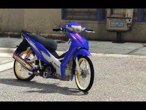 GTA 5 - Honda Wave 110i độ 1000cc chạy xe ôm gây tai nạn | ND Gaming