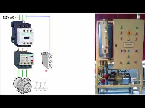 Control de Arranque y Paro de un motor  Parte 2