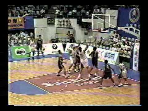 1998 William Jones Cup: Philippine Centennial National Team vs. Thailand National Team - Part 1
