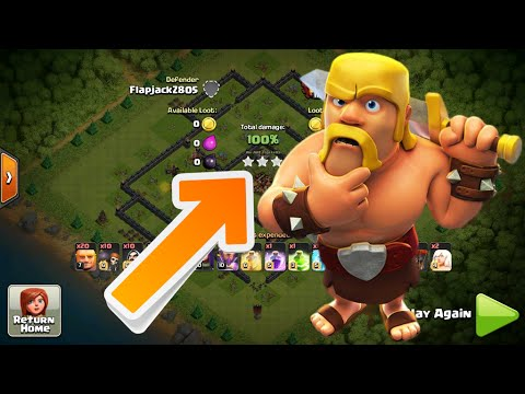 Clash of Clans - EASY TRICK TO 3 STAR ANYONE! BEST ATTACK STRATEGY IN COC!