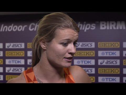 WIC 2018 Birmingham - Dafne Schippers NED 60 Metres Women Final
