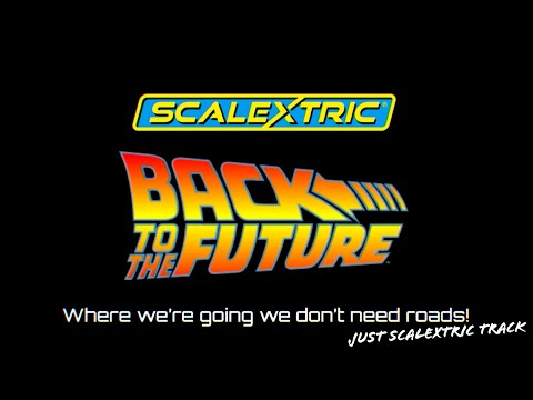 SCALEXTRIC goes BACK TO THE FUTURE