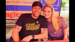 Beth Phoenix and her husband Adam Copeland