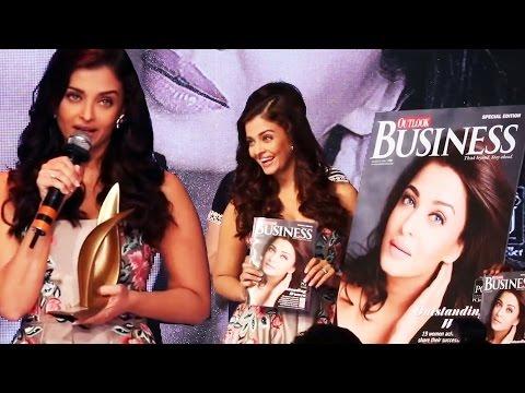 Aishwarya Rai WINS Business Women Achievers Awards 2016