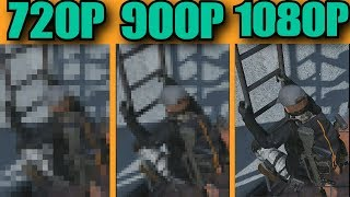 RX 590 8GB RING OF ELYSIUM LOW VS NORMAL VS HIGH DETAILS 1080P