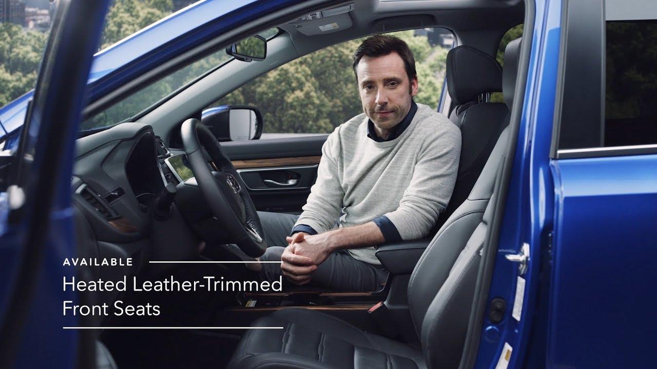 2020 Honda CR-V Touring: Interior Overview