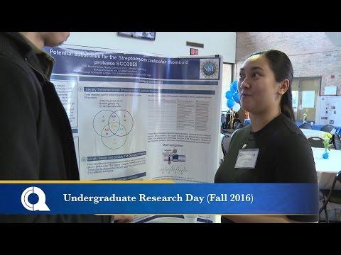 Undergraduate Research Day (Fall 2016)