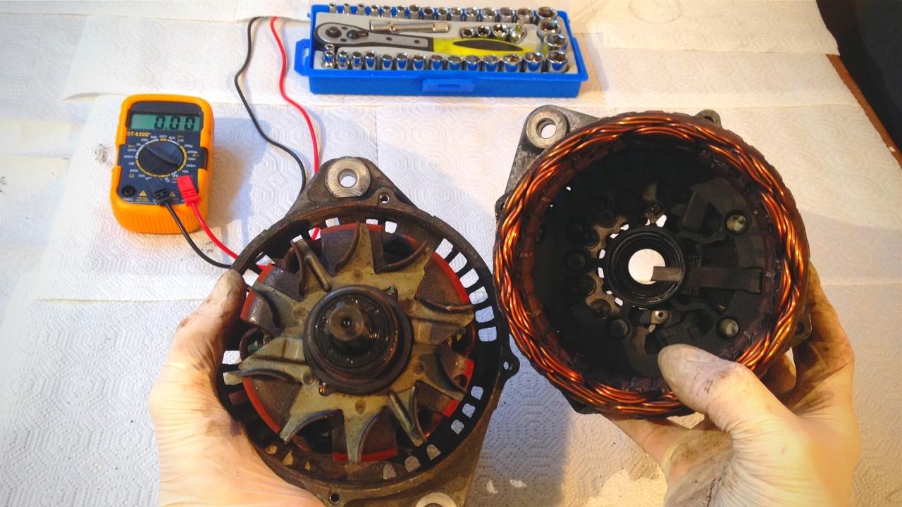 medium resolution of  alternator troubleshooting diy