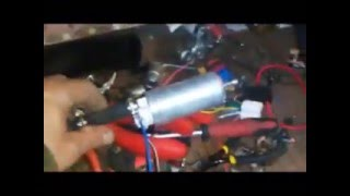видео Система питания топливом УМЗ-417 на автомобилях УАЗ, устройство