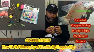 Crappie Fishing: How To Double Jig Crappie Rig (Fishing & Philosophy included) Crappie Town USA Baby