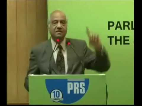 Justice Srikrishna's comments at the PRS Annual Conference, 2016: Parliament and the Judiciary