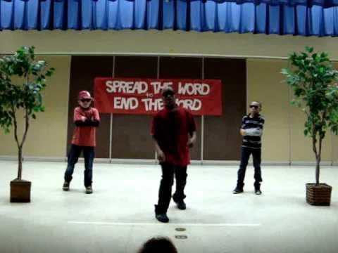 O.B. Gates Elementary School-Spread the Word Original Rap and Dance
