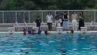 2016年第65回海上保安大学校海神祭潜水実演NO2