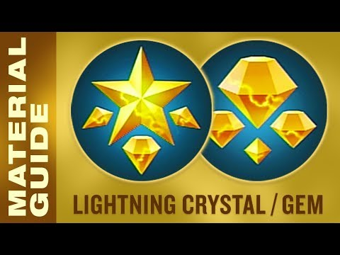 Farm Lightning Crystals and Gems FAST in Kingdom Hearts 3 (KH3 Material Synthesis Guide)