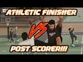 (NBA 2K17) POST SCORER VS ATHLETIC FINISHER! POSTERS & POST MOVES!