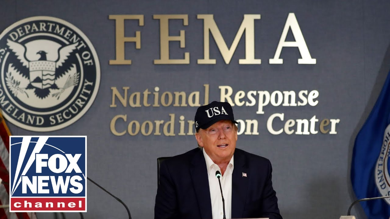 Trump admin under fire for diverting disaster relief funds to border