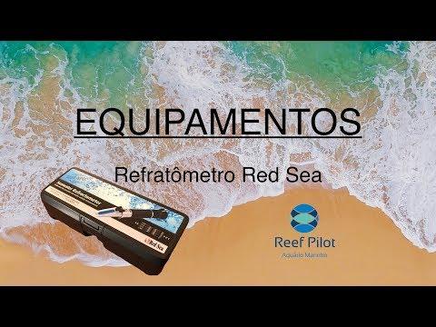 Aquário Marinho - Equipamentos - Refratômetro Red Sea e caneta TDS