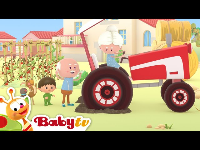 The Farmer in the Dell 🚜 (Remastered with Lyrics) | Nursery Rhymes & Songs for Kids | BabyTV