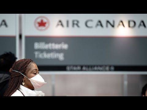 Air Canada's Last Flight From Rome To Montreal