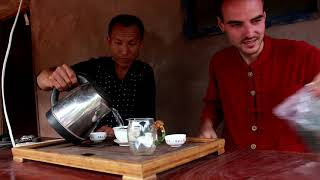 Visit to a Tea Village in Northern Laos