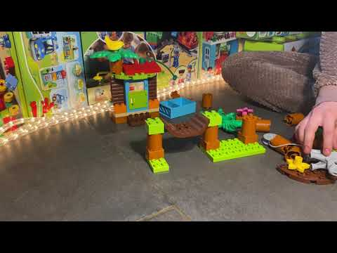 Lego Duplo - 10906 Tropical Island - Unboxing, Assembly And Play